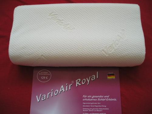VarioAir Royal Visco-Schaum Nackenkissen